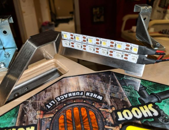 The Munsters Pinball Interactive Trough Lighting Kit