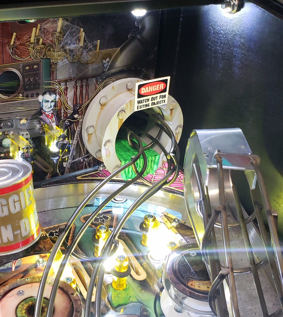 The Munsters Pinball Sewage Pipe