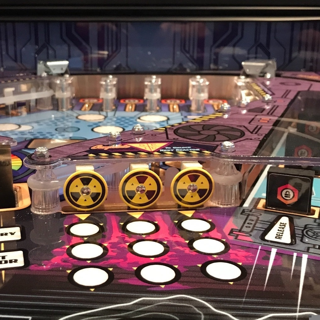 Total Nuclear Annihilation Pinball Target Decal Set