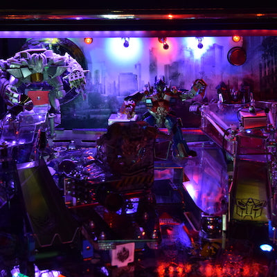 Transformers Pinball Back Board Lighting Kit