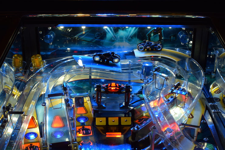 Tron Pinball Back Board Lighting Kit