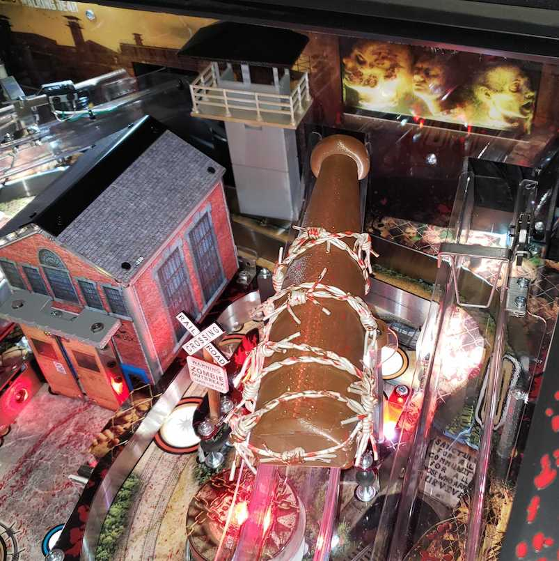 Walking Dead Pinball Lucille Ramp Cover