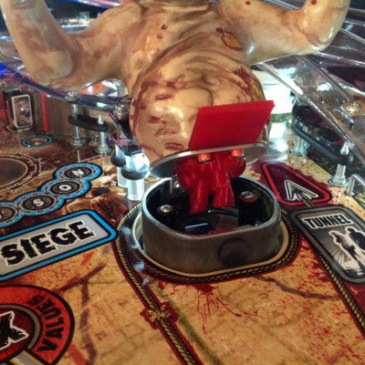 Walking Dead Pinball Pro Well Walker Guts and Bracket - Mezel Mods  - 1