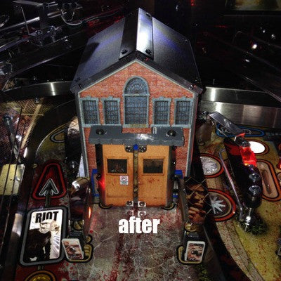 Walking Dead Pinball Prison Door Roof - Mezel Mods  - 3