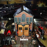 Walking Dead Pinball Prison Door Roof - Mezel Mods  - 2