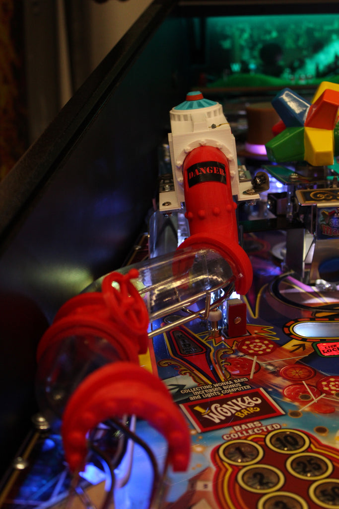 Willy Wonka Pinball Chocolate Factory Upgrade