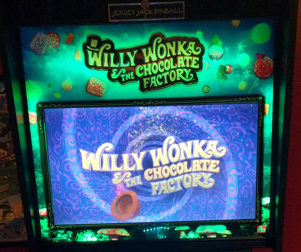 Willy Wonka Pinball Translight Illumination Kit