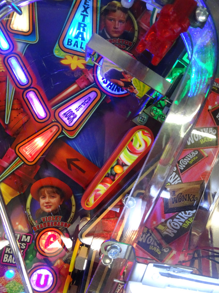 Willy Wonka Pinball Flipper Bat Toppers