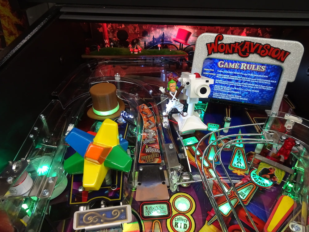 Willy Wonka Pinball Top Hat