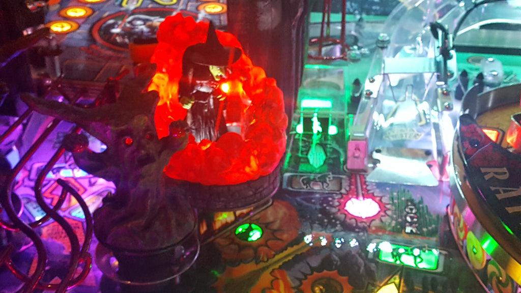 Wizard of Oz Pinball Witches Smoke Light