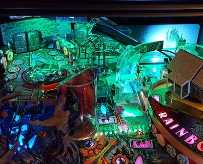 Wizard of Oz Pinball Back Board Lighting Kit
