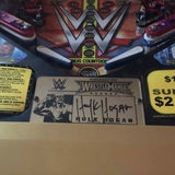 Wrestlemania LE Pinball Autograph Protector - Mezel Mods