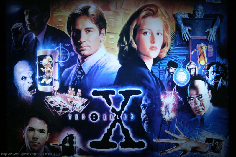 X-Files Pinball Interactive Back Box Light Kit
