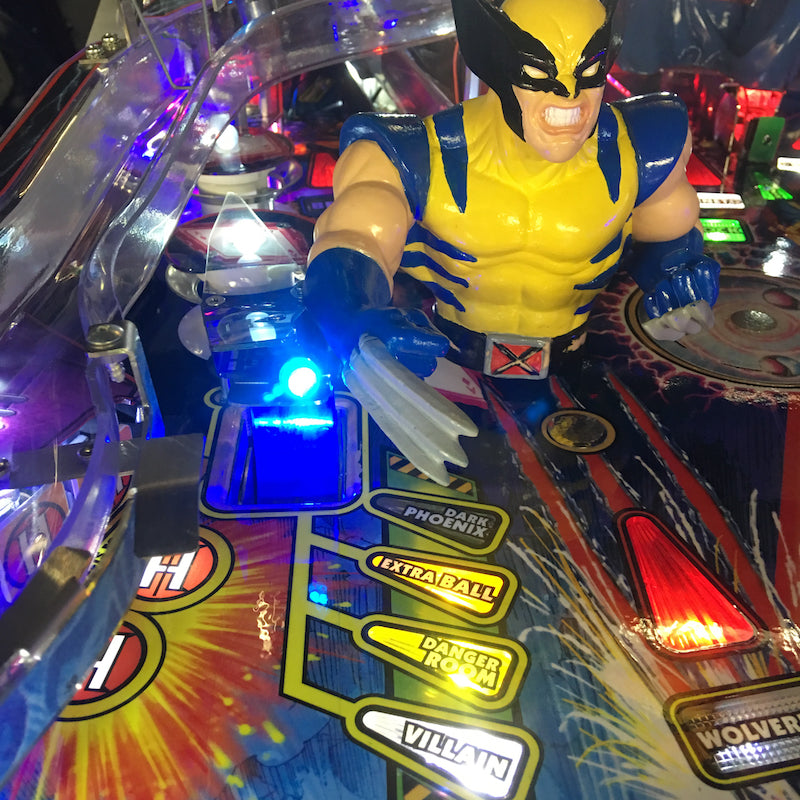 X-Men Pinball Scoop Illumination