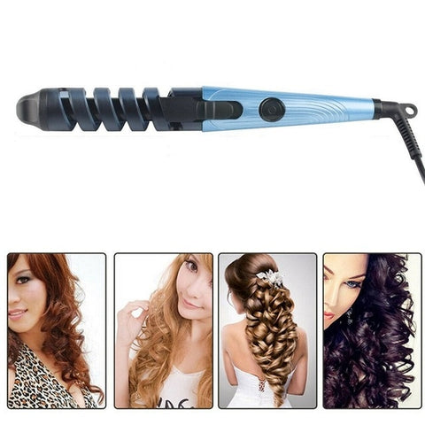 Nano 3 IN 1 Hair  Straightener Flat Iron Curling Irons Titanium Plate Hair Styling Tools