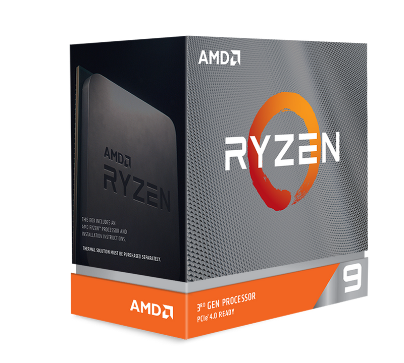 AMD Ryzen 9 3950X, 16-Core/32 Threads, Max Freq 4.7GHz,72MB Cache Socket AM4 105W, without cooler