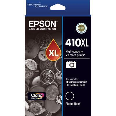 410XL High Capacity Claria Premium - Photo Black Ink Cartridge ( XP-530, XP-630, XP-540, XP-640)