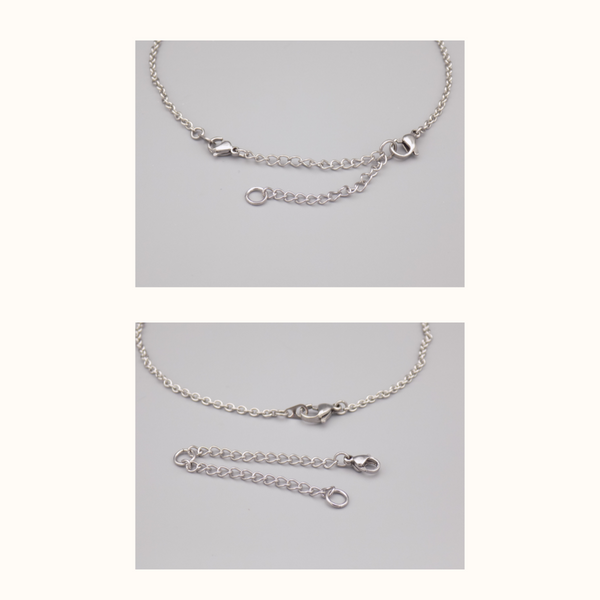 Extension chain with necklace