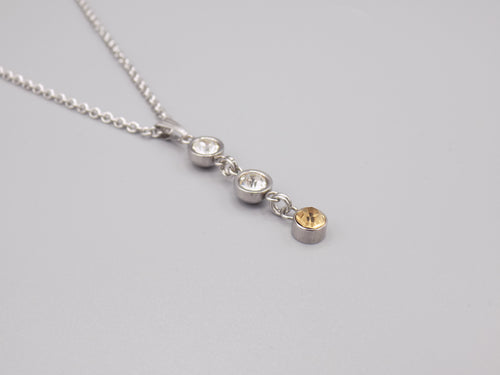 November Birthstone Pendant Necklace