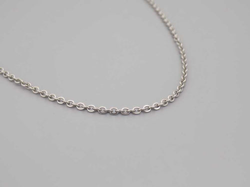 Stainless Steel Silver Chain Necklace - TrendyStreetJewelry