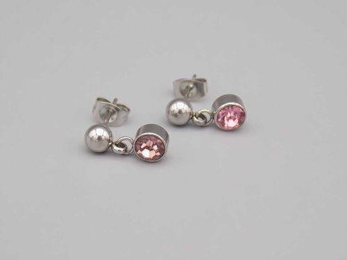 Stud June Birthstone Earrings - TrendyStreetJewelry