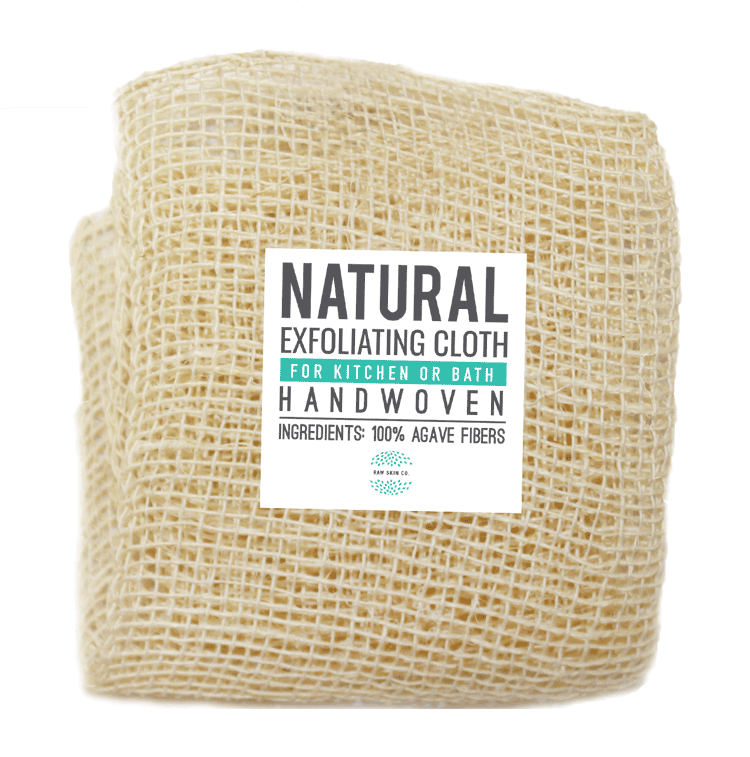 Natural Exfoliating Washcloth