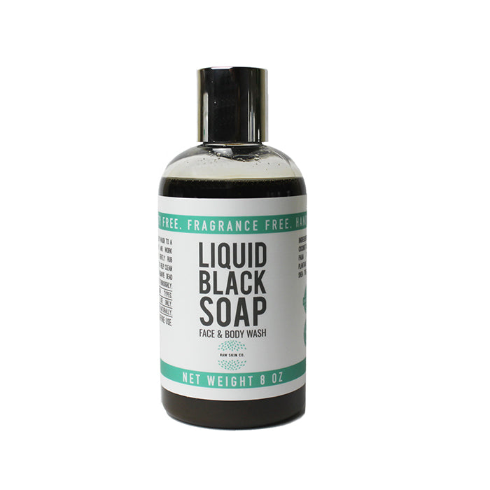 Raw Liquid Black Soap