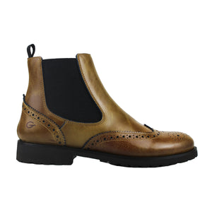 Chelsea boot in Senape PullUp leather