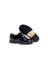 Load image into Gallery viewer, Brogue oxford in black patent leather