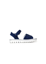 Load image into Gallery viewer, Double Strap Sandals in Denim