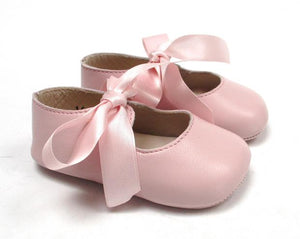 Baby Girls Newborn Shoes in Pink