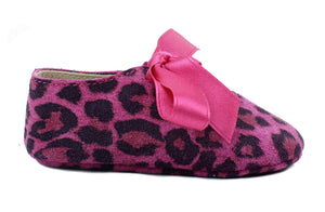 Baby Girls Newborn Shoes in Animalier