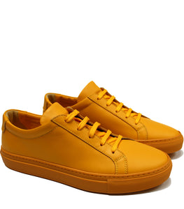 Yellow sun sneakers