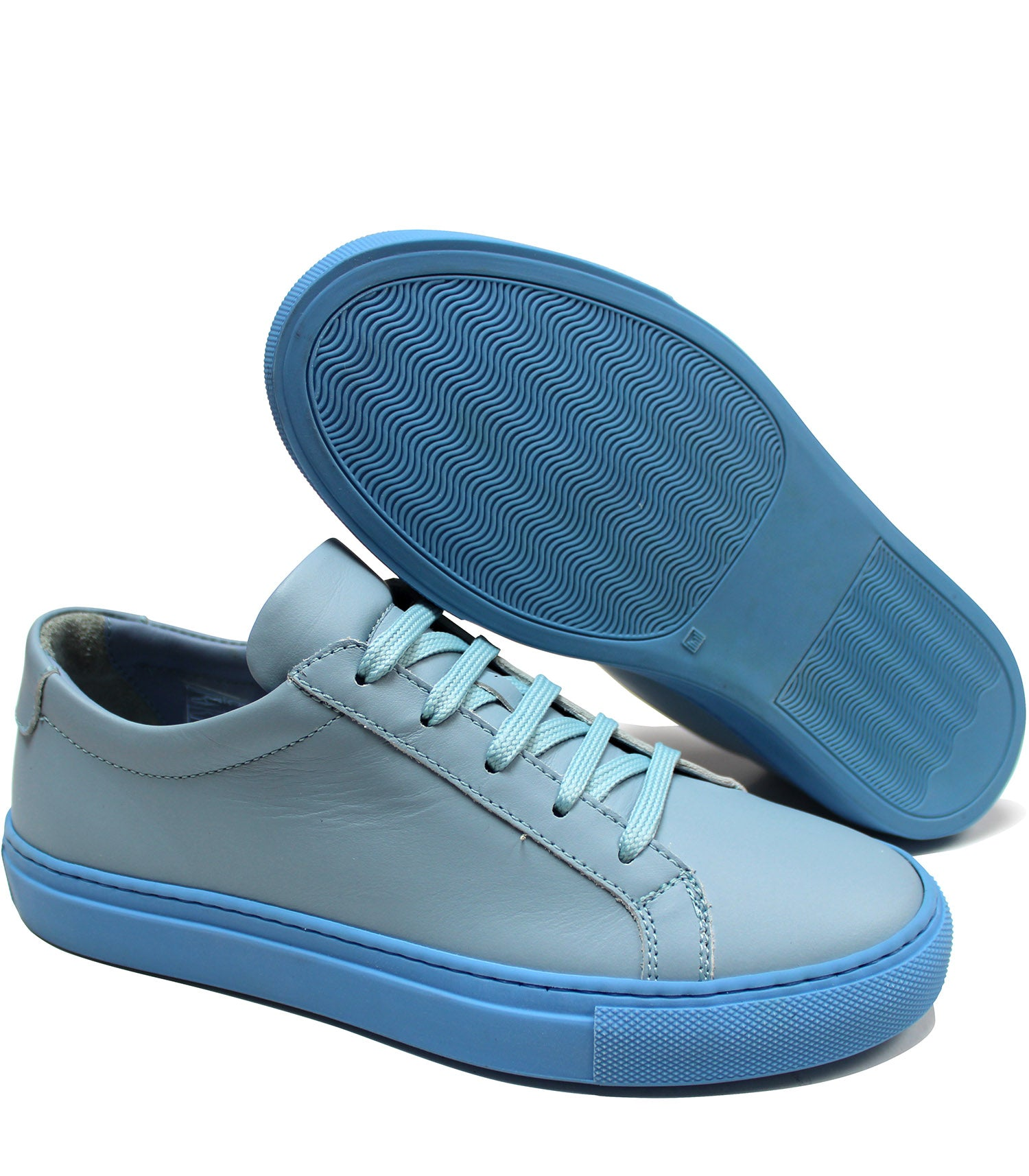 Pale blue sneakers – Gallucci Shoes