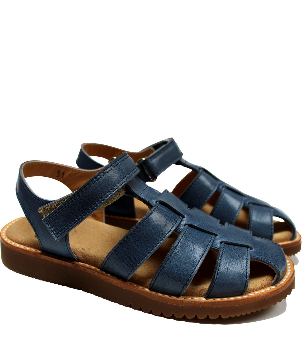 Indaco leather sandals