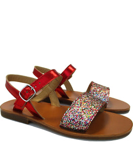 Glitter party sandals