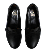 Load image into Gallery viewer, Black loafers in calf leather