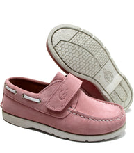 Load image into Gallery viewer, Pink boat shoes