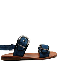 Load image into Gallery viewer, Iconic denim sandals