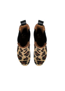 Chelsea Boots in Animalier Leather