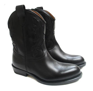 Texan Boots in black calf