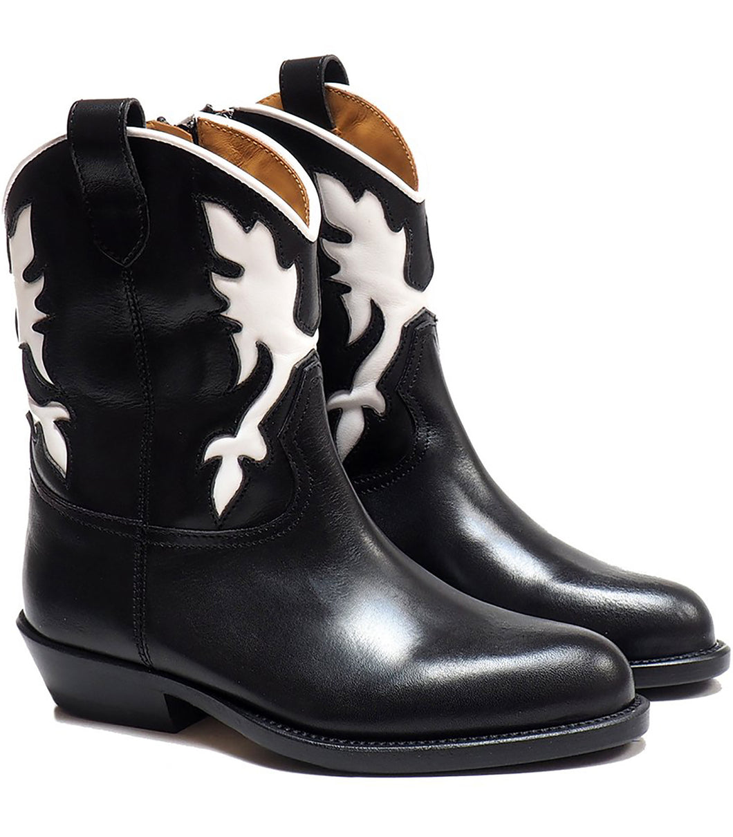 Black Texan Boots