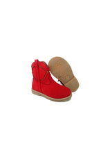 Load image into Gallery viewer, Toddler Boots in Red and Tan Nabuk
