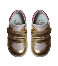 Load image into Gallery viewer, Pink & gold sneakers
