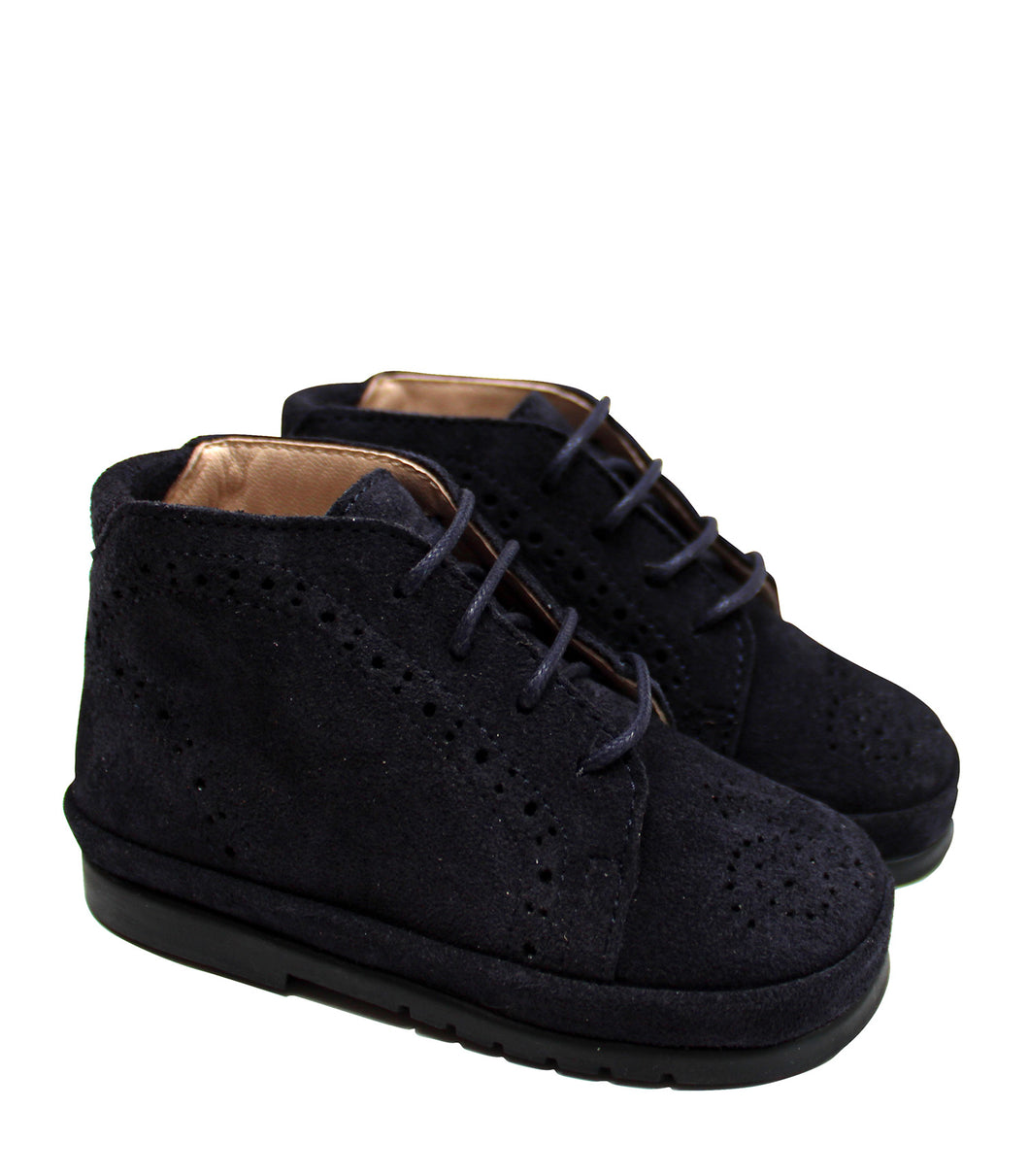 Toddler brogue shoes