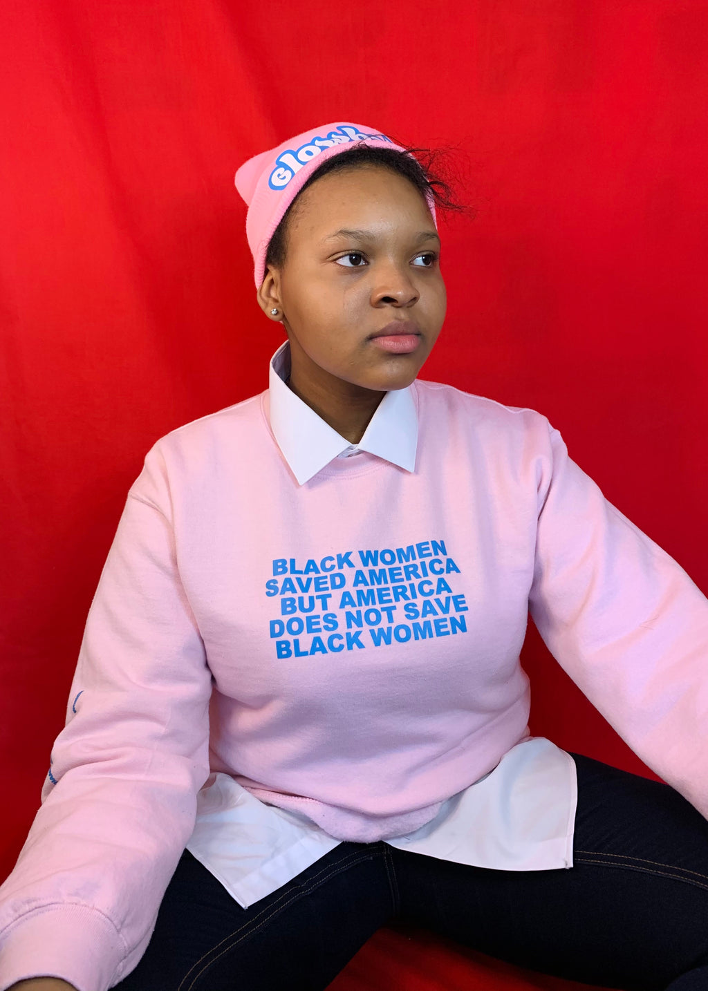 Black Women Saved America Crewneck