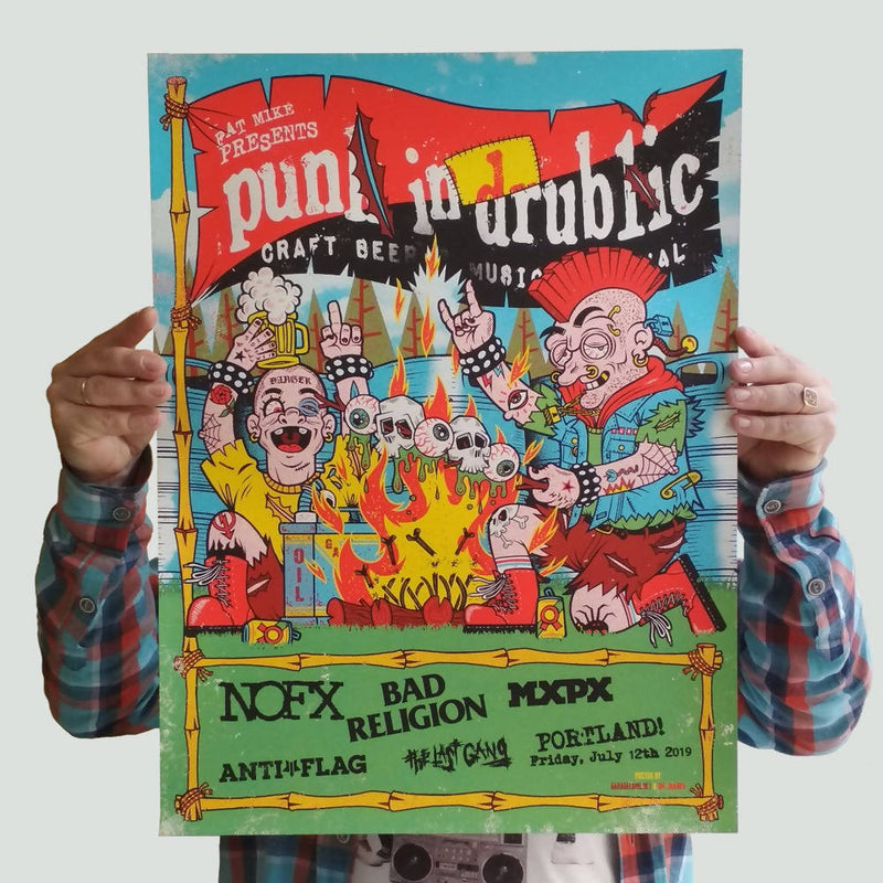 Póster del Camp Punk in Drublic 2019