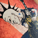 Ilustración de Tim Armstrong (Rancid) - The Evolution of Punk por Robbie Ramone