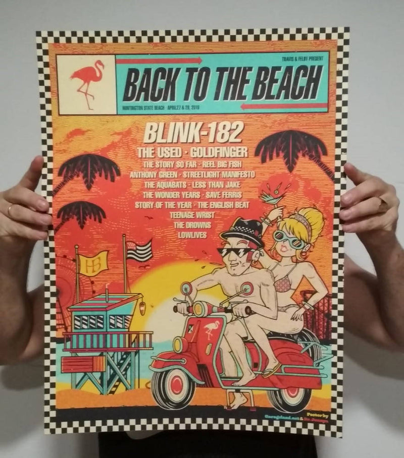 Póster del Back to the Beach 2019