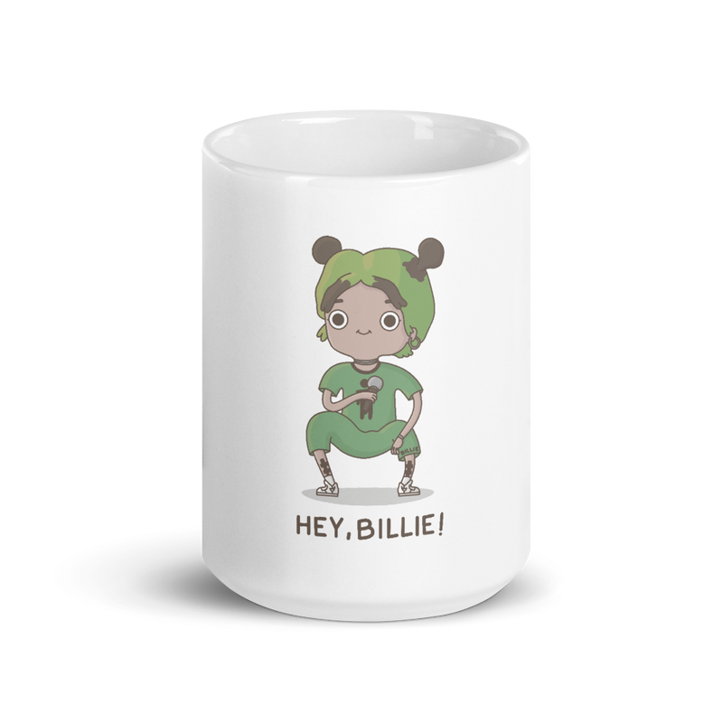 Taza 'Hey, Billie!'